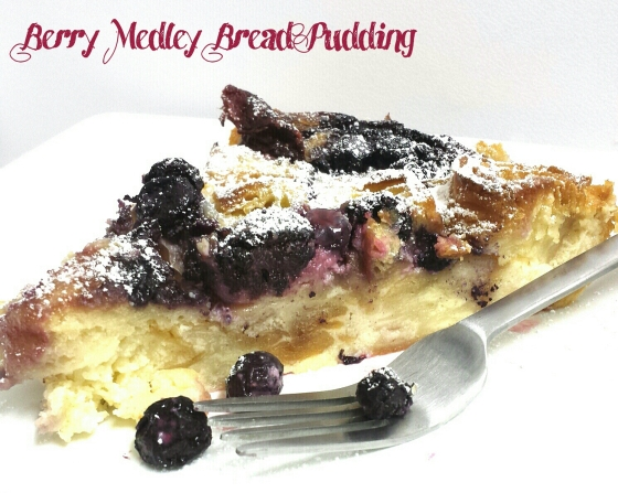 Berry Medley Bread Pudding